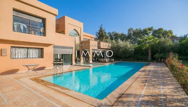 villa vente Marocain épuré Marrakech Extérieur Route Ouarzazate