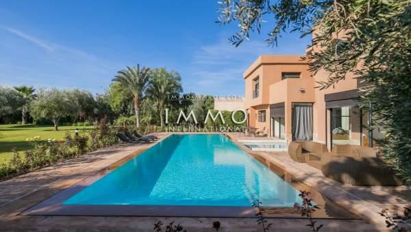 Vente maison Marocain épuré Marrakech Extérieur Route Ouarzazate