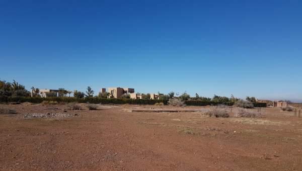achat terrain Terrain villa Marrakech Extérieur Route Ourika