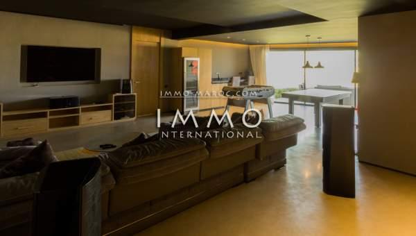 villa vente Moderne luxe Marrakech Golfs Extérieur Route Amizmiz