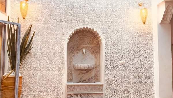 ryad Marocain épuré Marrakech