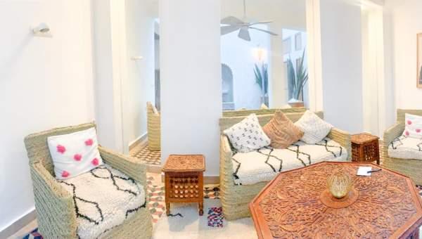 Riad à vendre Marocain épuré Marrakech