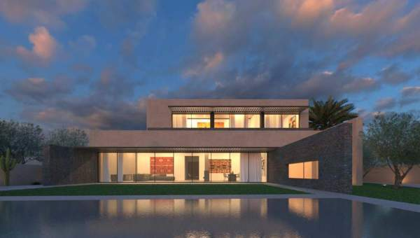 Vente villa Contemporain immobilier de luxe marrakech Marrakech Golfs Amelkis