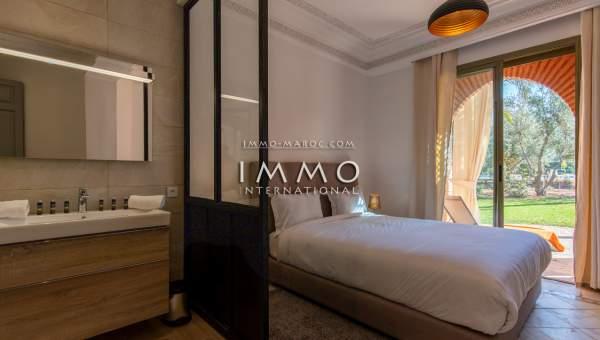 Appartement à vendre Marocain épuré Marrakech Palmeraie Circuit Palmeraie