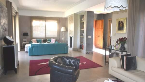 villa achat Marocain épuré Marrakech Palmeraie Bab Atlas