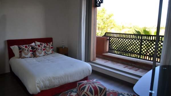 Achat villa Marocain épuré Marrakech Palmeraie Bab Atlas