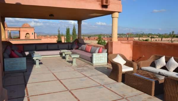 villa vente Marocain épuré Marrakech Palmeraie Bab Atlas