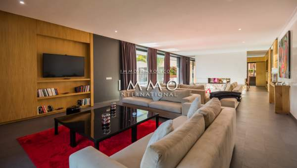 Villa à vendre luxueuses Marrakech Golfs Amelkis