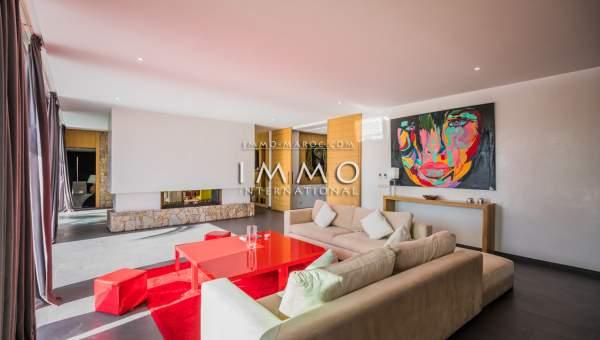 Maison à vendre immobilier de luxe marrakech Marrakech Golfs Amelkis