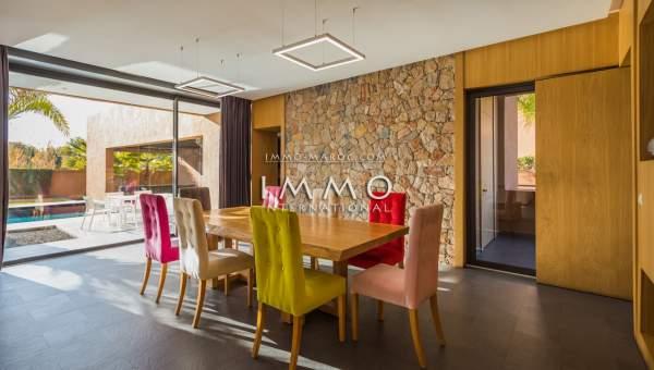 Vente maison luxueuses Marrakech Golfs Amelkis