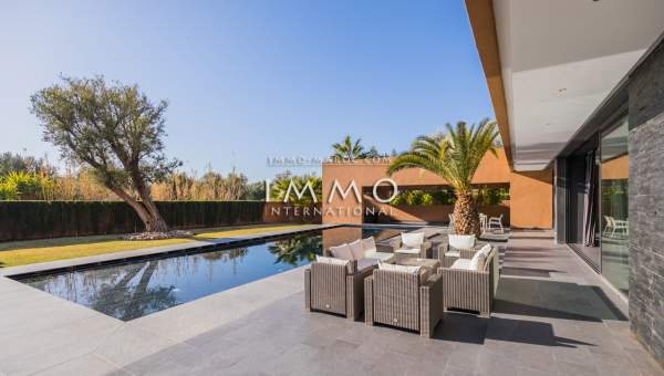 Maison à vendre prestige a vendre Marrakech Golfs Amelkis