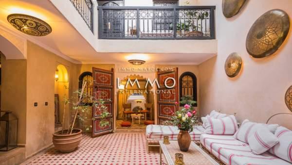 riad vente Marocain épuré Marrakech