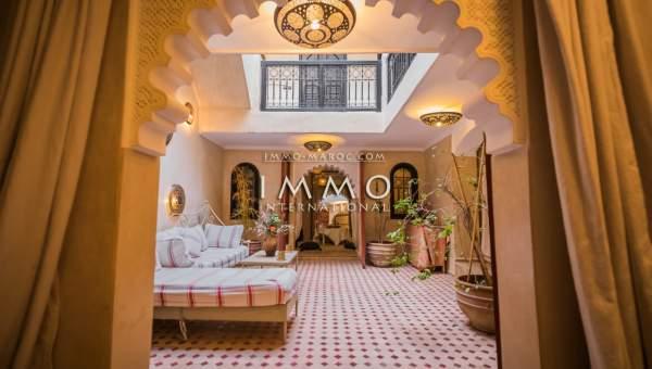 achat riad Marocain épuré Marrakech