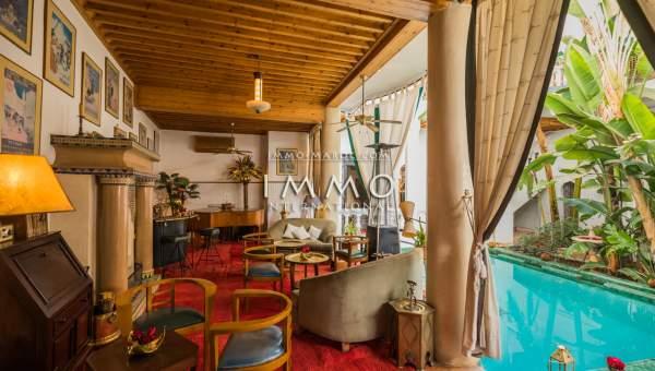 achat riad luxe Maison d'hôtes Marrakech