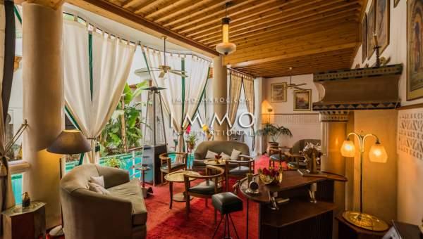 Riad à vendre luxueuses Maison d'hôtes Marrakech