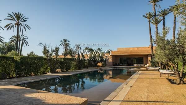 Villa à vendre Marocain épuré propriete luxe marrakech à vendre Marrakech Palmeraie Ksar Chargagh