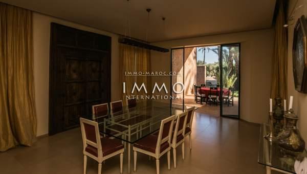 Vente maison Marocain épuré Marrakech Palmeraie Ksar Chargagh