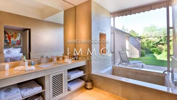 Vente villa Contemporain haut de gamme Marrakech