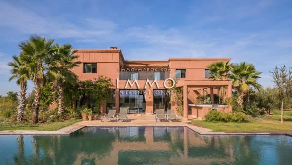 Vente maison Contemporain luxe Marrakech Extérieur Route Amizmiz