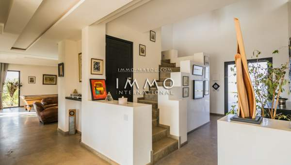 Maison à vendre Moderne immobilier luxe à vendre marrakech Marrakech Extérieur Route Amizmiz