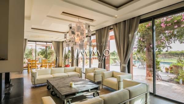 Vente villa Contemporain luxe Marrakech Extérieur Route Amizmiz