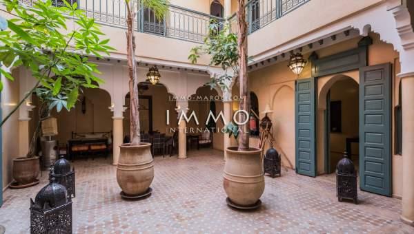 Vente riad Marocain épuré Marrakech