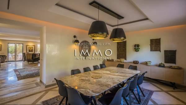 Maison à vendre Moderne Marrakech Centre ville Targa