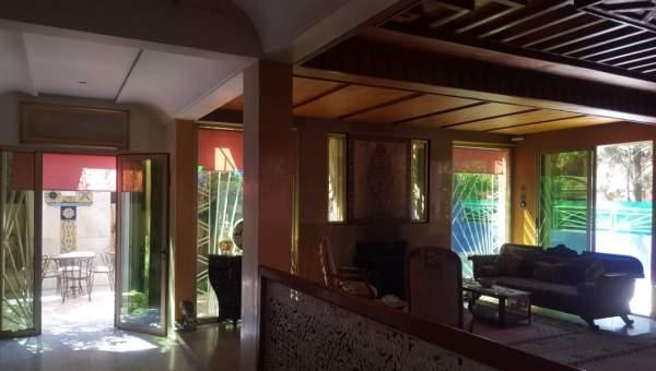 villa vente Marocain épuré Marrakech Centre ville Targa