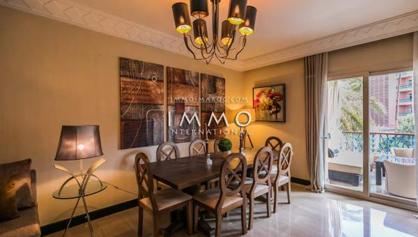 Vente appartement Moderne luxe Marrakech Hivernage