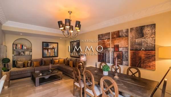 Vente appartement Contemporain prestige a vendre Marrakech Hivernage