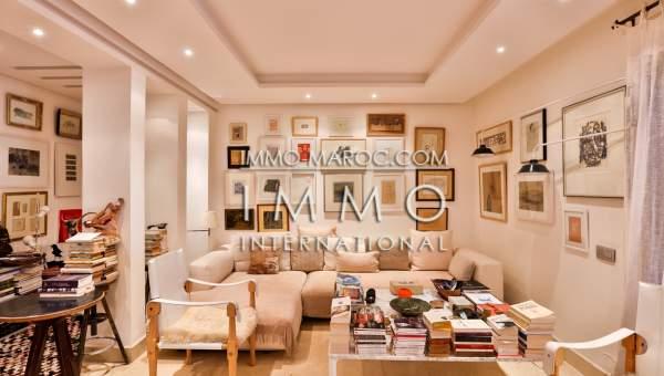 appartement vente Contemporain Marrakech Centre ville Guéliz