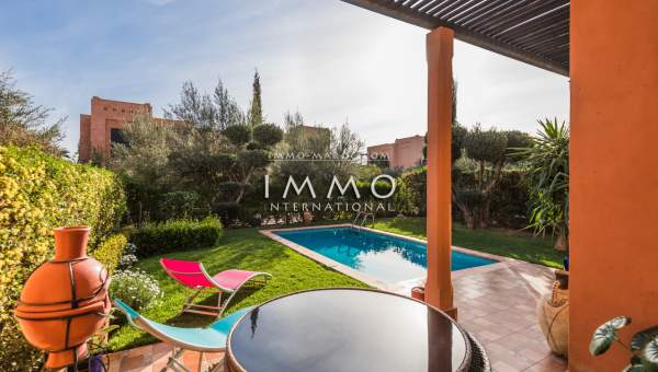 villa achat Moderne Marrakech Extérieur Route Ourika