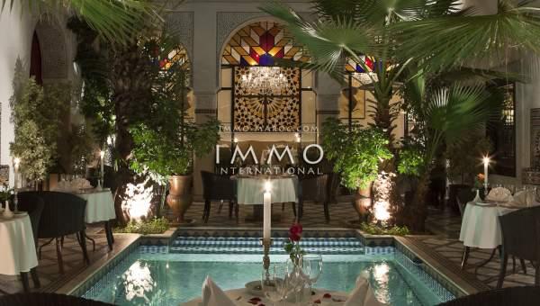 riad vente prestige a vendre Marrakech Place Jamaa El Fna Riad Zitoun