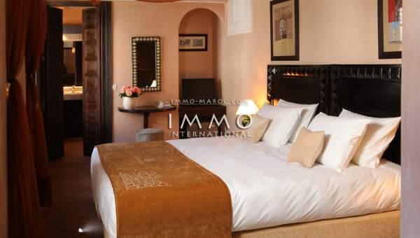 ryad prestige a vendre Marrakech Place Jamaa El Fna Riad Zitoun