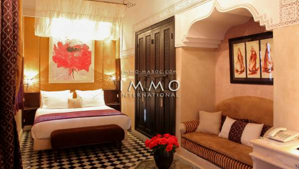 ryad biens de prestige Marrakech Place Jamaa El Fna Riad Zitoun