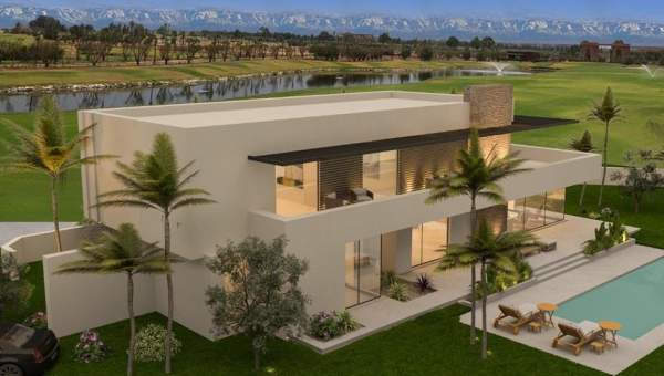 villa achat Contemporain luxe Marrakech Golfs Amelkis