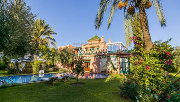 Achat villa Marocain épuré immobilier luxe à vendre marrakech Marrakech Palmeraie Circuit Palmeraie