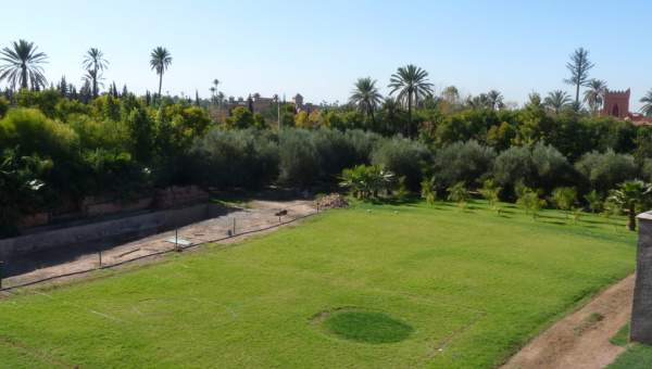 Vente maison Marocain épuré de prestige Marrakech Palmeraie Circuit Palmeraie