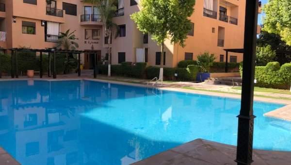 Vente appartement Marocain épuré Marrakech Centre ville Route Casablanca