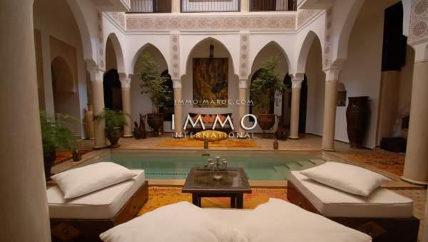 Vente riad garage Marrakech Autres Secteurs Médina