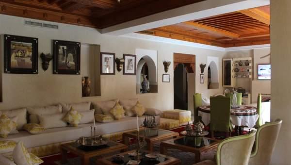 villa achat Marocain épuré prestige Marrakech Palmeraie Circuit Palmeraie