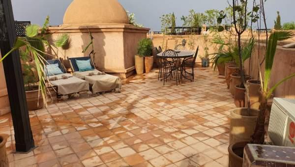 Appartement à louer Contemporain Marrakech Extérieur Route Fes