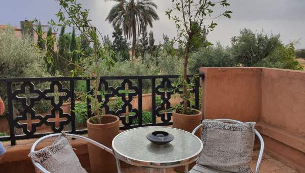 Location appartement Moderne Marrakech Extérieur Route Fes