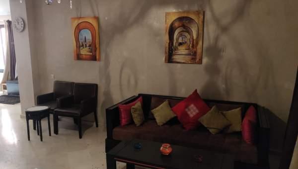 acheter appartement Marocain épuré Marrakech Palmeraie Circuit Palmeraie