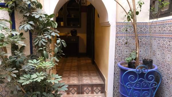 ryad auto Marocain Maison d'hôtes Marrakech moins de 10 minutes de la place