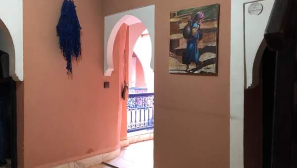 ryad garage Marocain Maison d'hôtes Marrakech moins de 10 minutes de la place