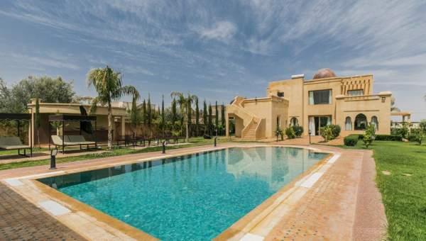 Location villa Marocain épuré propriete luxe marrakech à vendre Marrakech Extérieur Route Sidi Abdellah Ghiat