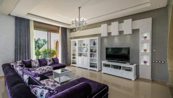 Location villa Marocain épuré immobilier de luxe marrakech Marrakech Extérieur Route Sidi Abdellah Ghiat