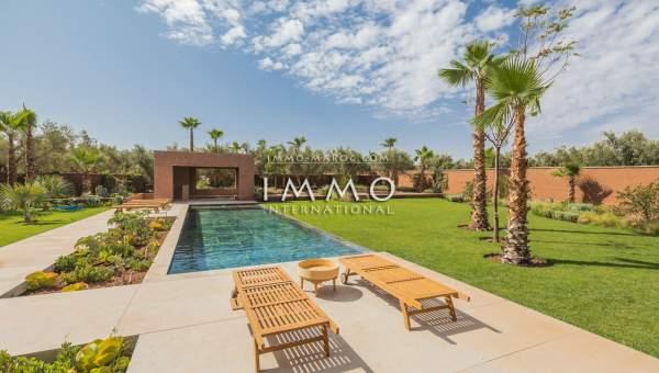 Vente villa Contemporain Prestige Marrakech Extérieur