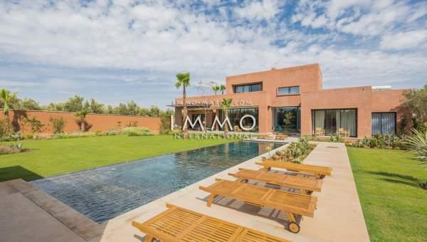 Vente maison Moderne prestige Marrakech Extérieur